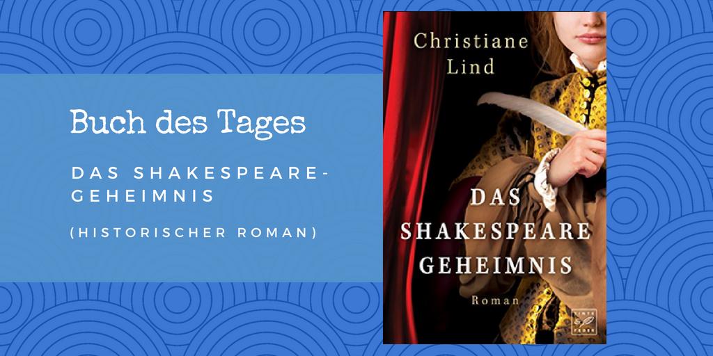 Das Shakespeare-Geheimnis – Buch des Tages vom 18.05.2018