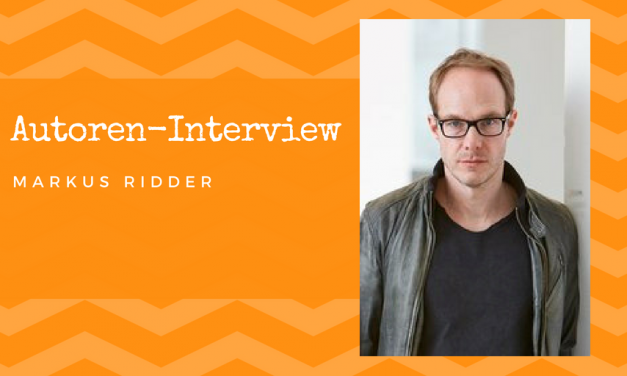 Autoren-Interview: Markus Ridder