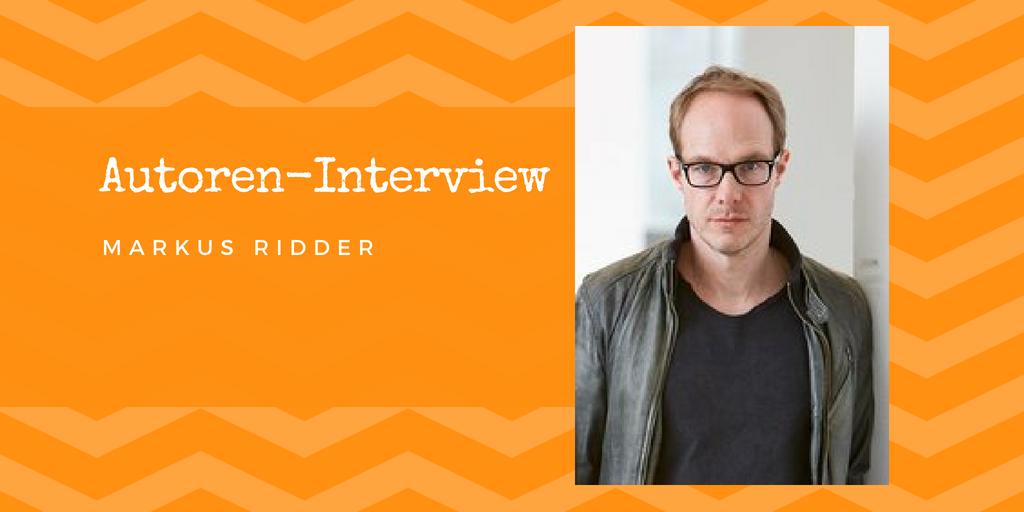 Autoren-Interview: Markus Ridder